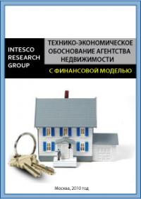 Технико-экономическое обоснование агентства недвижимости (с финансовой моделью)