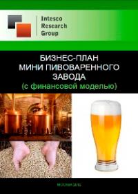 Бизнес-план мини пивоваренного завода (с финансовой моделью)
